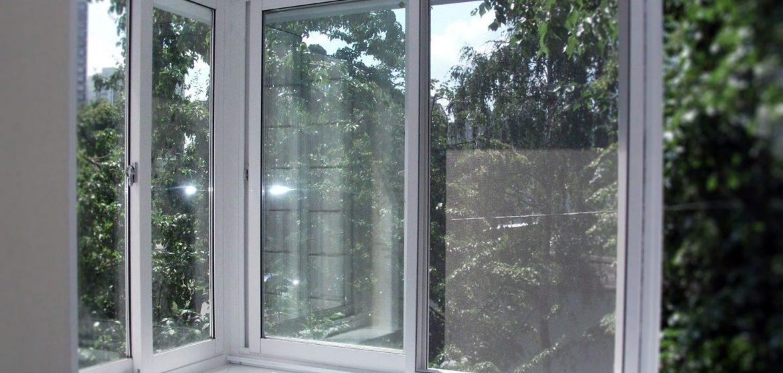 Полутеплое остекление балкона профилем Слайдорс